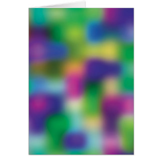 Fuchsia color blur greeting cards