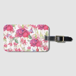 Fuchsia Fantasy Bag Tag