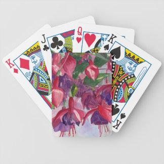 Fuchsia Frenzy Poker Deck