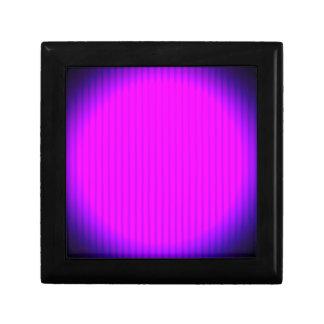 Fuchsia LED lamp Small Square Gift Box