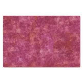 Fuchsia Rustic Texture Tissue Paper