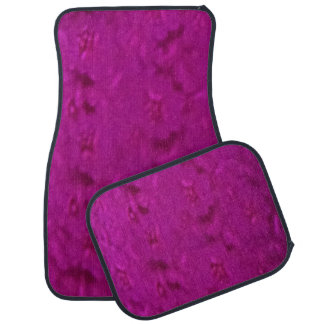 Fuchsia Set of 4 Car Mats Floor Mat