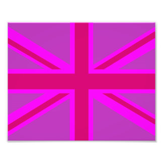 Fuchsia Union Jack Photograph