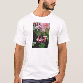 Fuchsias W/ Crimson Centers flowers T-Shirt
