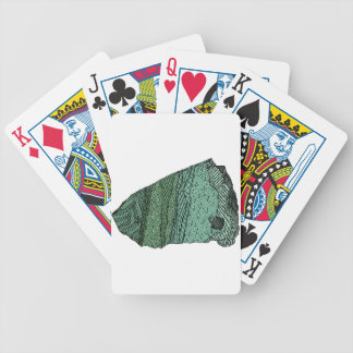 Fuchsitic Quartzite Bicycle Playing Cards