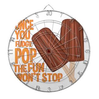Fudge Pop Dartboard