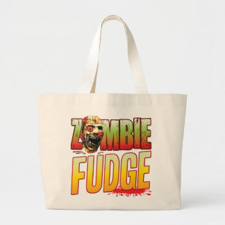 Fudge Zombie Head Canvas Bags