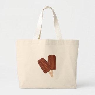 Fudgesicle Large Tote Bag
