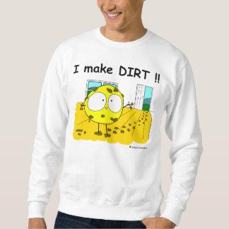 """Fudsy Faces""-Sweatshirt-I Make DIRT Sweatshirt"