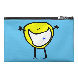 """Fudsy Faces""-Travel Acces. Bag-Your Greatest Gift Travel Accessories Bags"