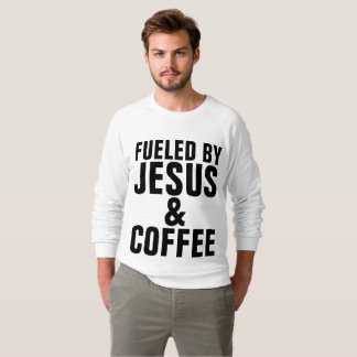 FUELED BY JESUS AND COFFEE Christian T-shirts