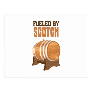 Fueled by Scotch Postcard