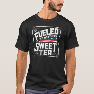 Fueled By Southern Sweet Tea Dark Tee Shirt