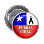 Fuerza Chile - 2010 Pinback Buttons