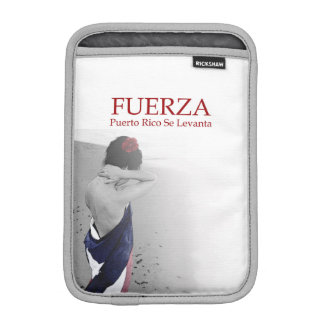 Fuerza - image with text iPad mini sleeve