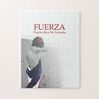 Fuerza - image with text jigsaw puzzle