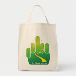 FUG Emerald Finger Grocery Tote Bag