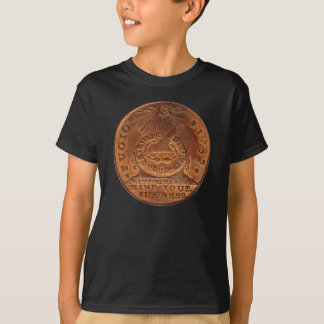 Fugio Cent Mind Your Business Copper Penny T-Shirt