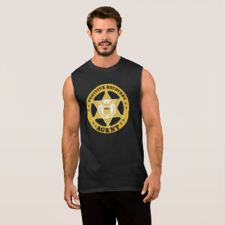 FUGITIVE RECOVERY AGENT Cotton Sleeveless T-Shirt