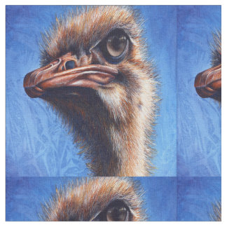 Fugley The Ugly Ostrich with An Attitude Fabric