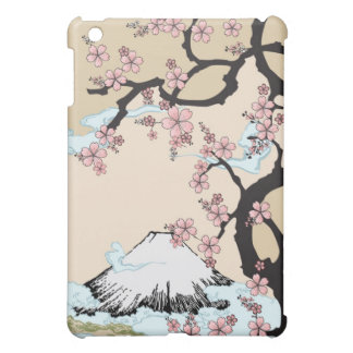 Fuji and Sakura - Japanese Design iPad case