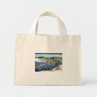 Fuji from Kanaya on the Tōkaidō Mini Tote Bag