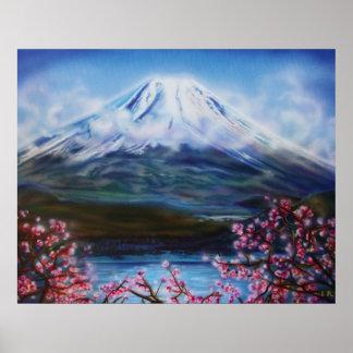 Fuji-San 24x30 Lisa Iris Poster
