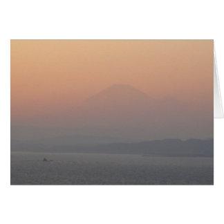Fuji-san-blank Note Card