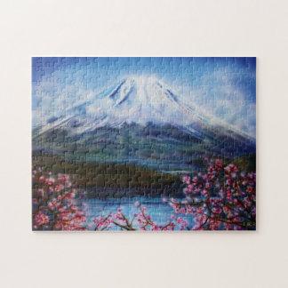 Fuji-San Puzzle by Lisa Iris