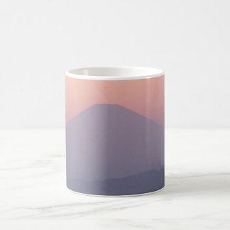Fuji san sunset Mug