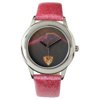 Fuji-san Sunset RJD logo wristwatch