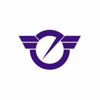 Fujisawa, Kanagawa, Japan flag Cut Outs