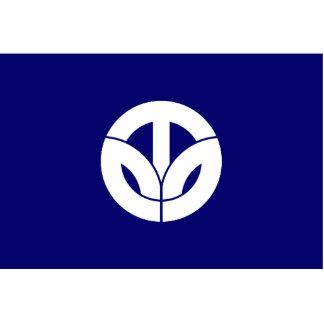 Fukui Prefecture, Japan flag Photo Cut Out