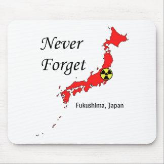 Fukushima, Japan Nuclear Disaster Mouse Pads
