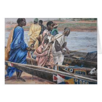 Fulani Cattle Herders Card