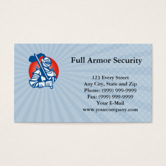 Full Armor Security Business card