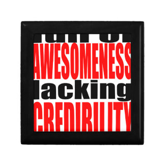 full awesomeness lacking credibility red motivatio gift box