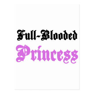 Full-Blooded Princess Postcard