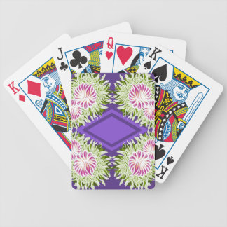 Full Blossom Pattern Bicycle Playing Cards