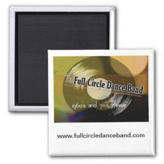 Full Circle Dance Band Magnet
