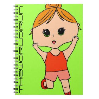 Full Color Runner Notebook #9