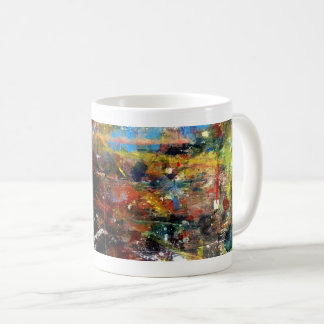 Full Colors Abstract Expression coffee mug design