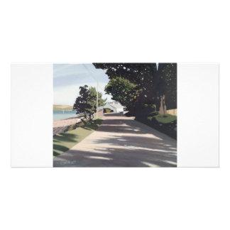 Full colour fine art illustrated  photocard photo card template
