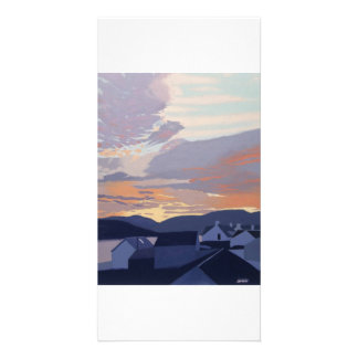 Full colour illustrated fine art photocard. picture card