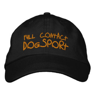 Full Contact Dogsport Embroidered Hat