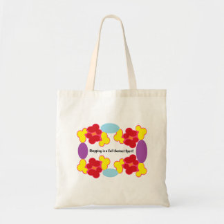 Full Contact Shopping Tote Bag