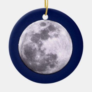 Full & Crescent Moon Ornament