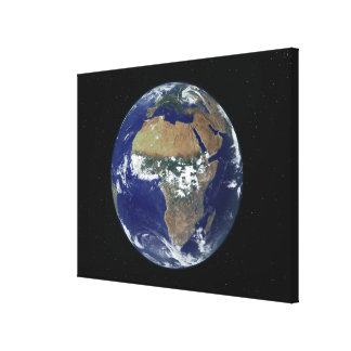 Full Earth Showing Africa and Europe Canvas Print