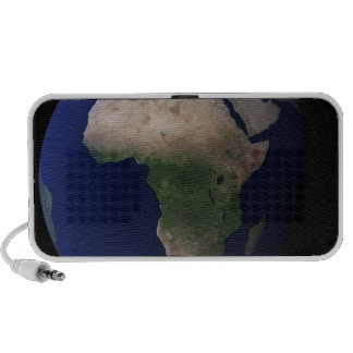 Full Earth showing Africa, Europe, &  Middle Ea Portable Speaker