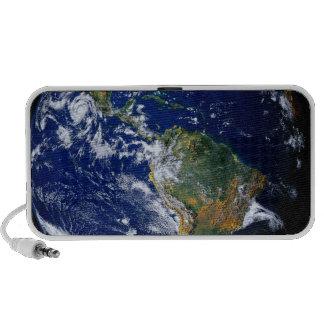 Full Earth Showing The Americas Mp3 Speaker